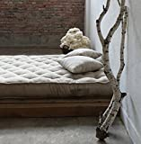 Handmade 100% Wool-filled Mattress / IKEA SNIGLAR, TWIN, FULL, DOUBLE, QUEEN or Any Custom Size/ Cotton, Linen , Blend, Wool or Custom Cover / Non-toxic Natural Bed / Made-to-order
