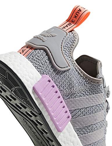 Nmd Gris W Adidas Zapatillas De Gimnasia r1 Violeta Mujer Para d8EqEwTW