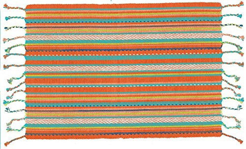 Kay Dee Placemat (Kay Dee Designs Serape Woven Placemats (Set of 4),)
