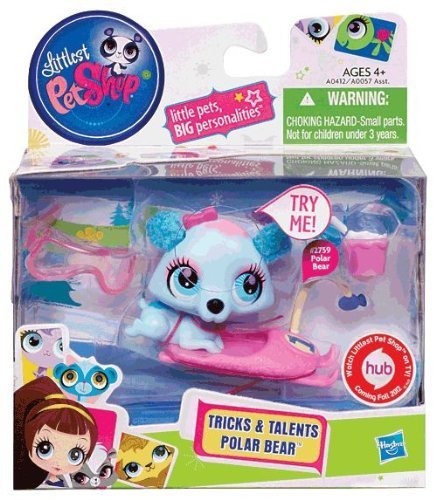 Littlest Pet Shop LPS Tricks & Talents Polar Bear #2759 LPS