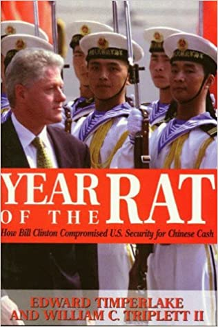 Image result for year of the rat clinton