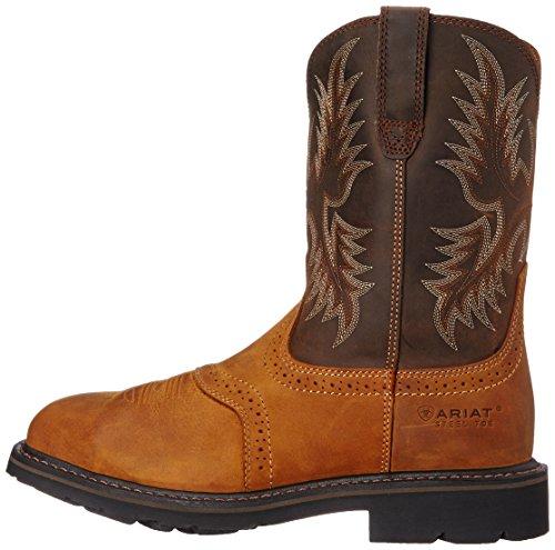 3bc910e2391 Ariat Men's Sierra Wide Square Steel Toe Work Boot, Aged Bark ...