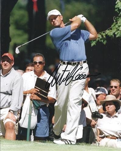 Retief Goosen Autographed Golf 8x10 Photo - PSA/DNA Certified - Autographed Golf Photos (Certified Golf Photo 8x10 Autograph)