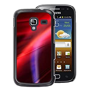 A-type Arte & diseño plástico duro Fundas Cover Cubre Hard Case Cover para Samsung Galaxy Ace 2 (Sunset Purple Pink Red)