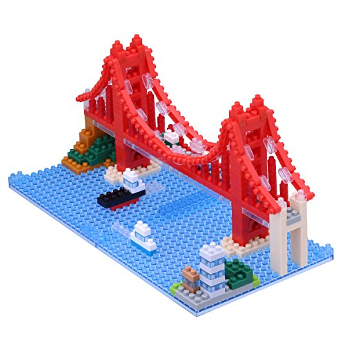 Bridge Gate (Nanoblock Golden Gate Bridge Building Kit)