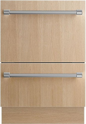 Fisher Paykel DD24DI9N 24 Inch Fully Integrated Dishwasher with 9 Wash Cycles, 14 Place Settings, DishDrawer Technology, Ergonomic