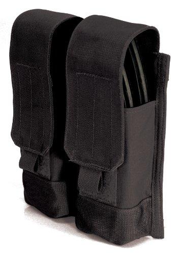 BLACKHAWK! 37CL88BK Magazine Pouch AK47 Double W/Strike Webbing Black