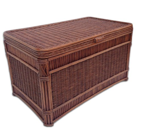(Wicker Paradise GQN210 Barbados Rattan Trunk)
