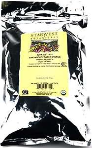 Starwest Botanicals Organic Arrowroot Powder - 1 Pound (16 oz)