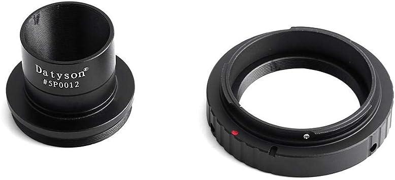 Lens Adapter T Ring for Canon DSLR SLR Camera+2 to M420.75 Telescope Mount