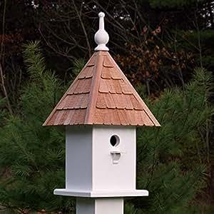 """23""""totalmente funcional blanco Classic Loretta al aire libre jardín casa para pájaros"""
