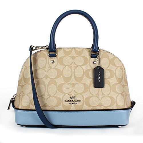 Blue Satchel Sierra Purse Inclined Multi Coach Shoulder Shoulder Mini Handbag Women��s x0wBqUzZ
