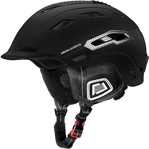 Megaloceros Snowboard & Ski Helmet with 2 Different Size Liners, ASTM Certified, Lightweight, Shockp - http://coolthings.us