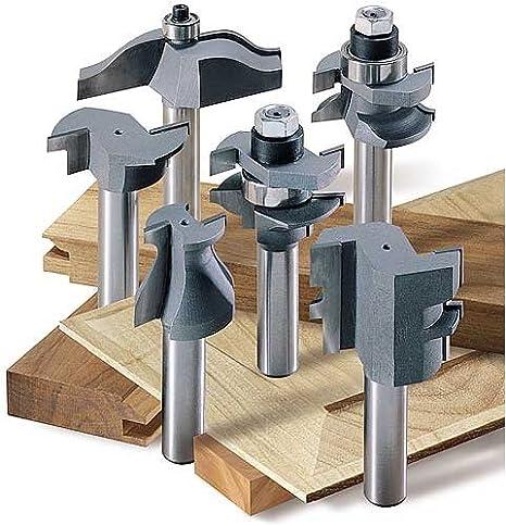 30-Piece MLCS 8369 1//2-Inch shank Carbide-tipped Router Bit Set