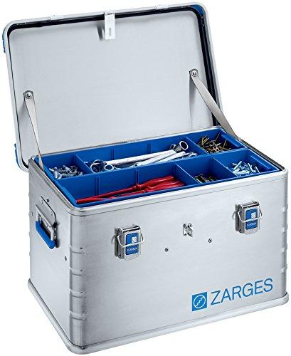 Zarges Euro Box Caja de transporte 40707 – 600 X 400 X 340 mm Volumen 60