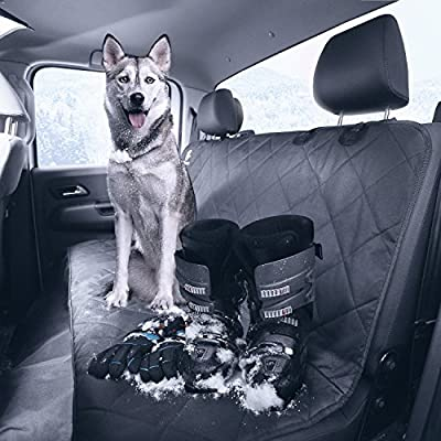 Dog Seat Cover - Ideal Pet Seat Cover for Protecting your Rear Car Seat and Keeping your Dog or Cat Comfortable on Back Seat - Non-Slip Hammock for Rear Bench - PetChoice from PetChoice
