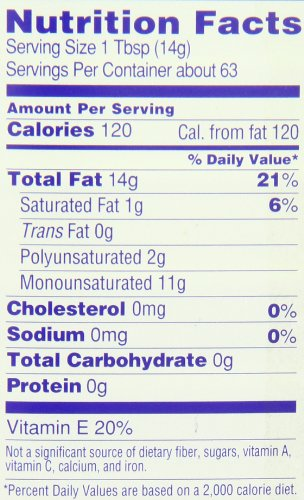 Hollywood Safflower Oil, 32 Ounce Bottle 2 Pure safflower oil expeller pressed without chemicals Enriched with antioxidant vitamin E Low saturated fat, cholesterol and sodium