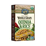 Lundberg Organic Whole Grain Quinoa and Rice with Basil and Bell Pepper, 6 Ounce - 6 per case.