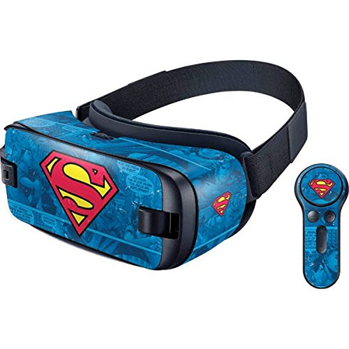 DC Comics Superman Gear VR with Controller (2017) Skin - Superman Logo Vinyl Decal Skin For Your Gear VR with Controller (2017)]()