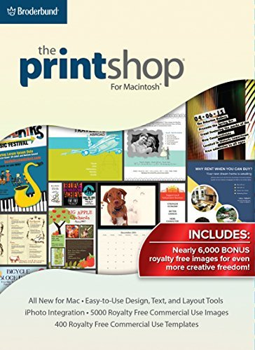 The Print Shop for Mac SE: Your PrintShop, all new for Macintosh, with BONUS CLIPART! [Download] by Encore