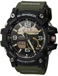 Casio Mens GG-1000-1A3CR Mudmaster G-SHOCK Quartz Casual Watch, Green