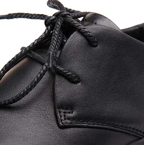 39 Casual Wild Scarpe Stile Black Scarpe Scarpe Casual Pelle Scarpe Calzature Scarpe Slip Nuovi Classico Non In In Uomo Pelle 0q0xHwfz