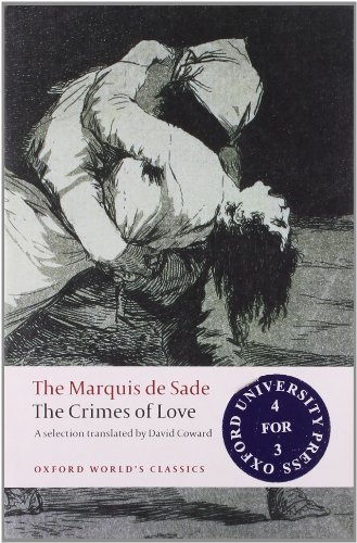 The Crimes of Love (Oxford World's Classics) by Marquis de Sade (2008-08-01)