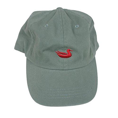 Logo Cap Olive - Southern Marsh Men's Logo Hat, Olive/Red, One Size