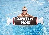 Playtek Pool Float Tootsie Roll Noodle, Brown