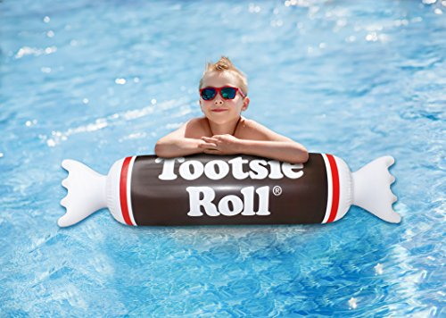 Playtek Pool Float Tootsie Roll Noodle, -