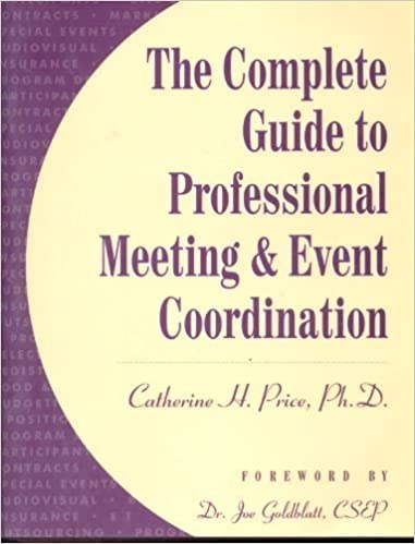 Book Complete Guide to Professional Meeting and Event Co-Ordination by Catherine Price (1998-10-01)