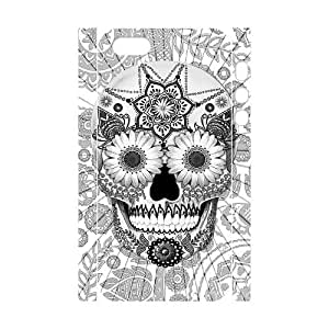 Diy Aztec Sugar Skull Pattern Customized for iphone 5s Back Cover Phone Case