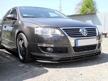 Alerón frontal Volkswagen Passat B6 3 C para extensión de parachoques: Amazon.es: Coche y moto