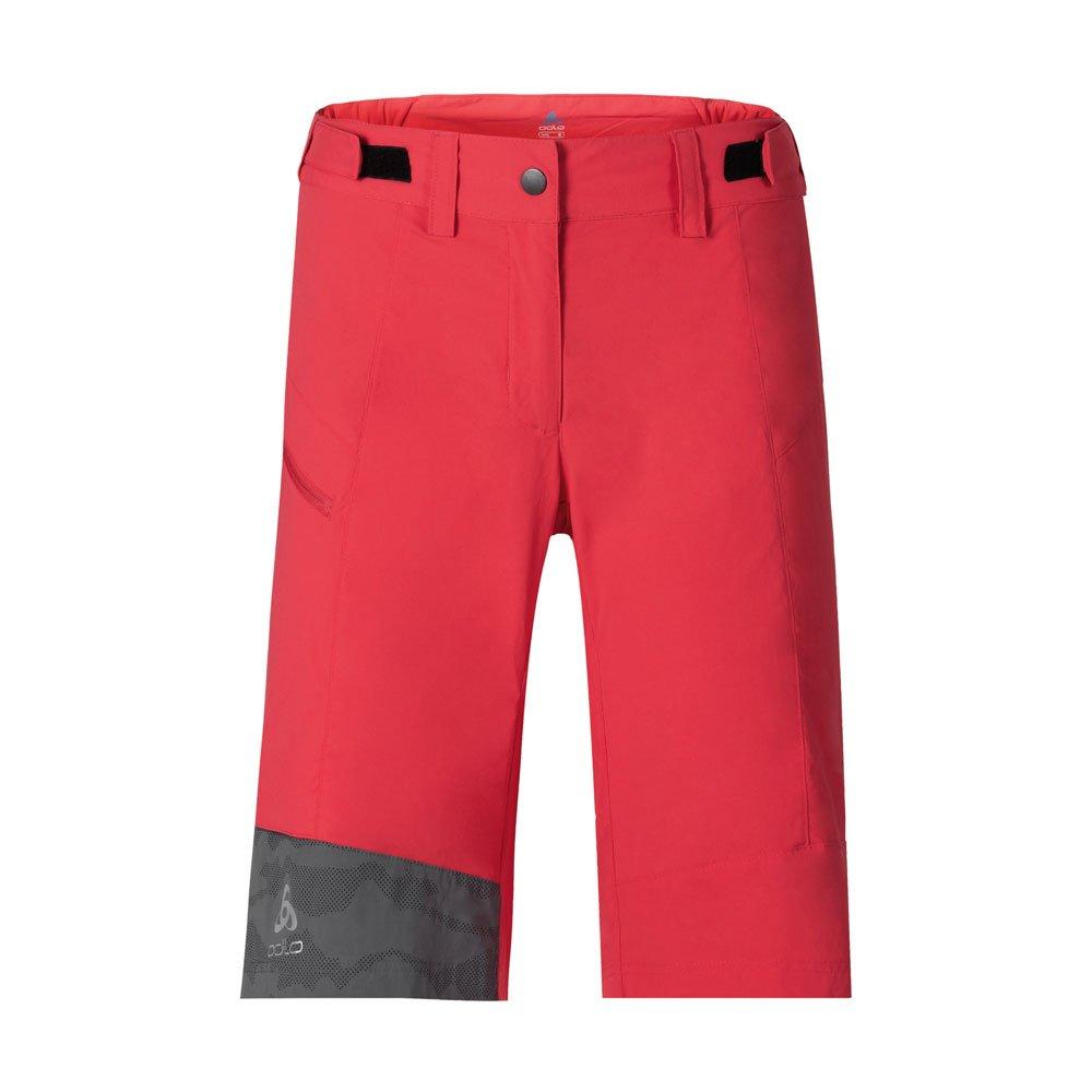 Odlo Morzine Bike Shorts with Tights Damens - Bittersweet