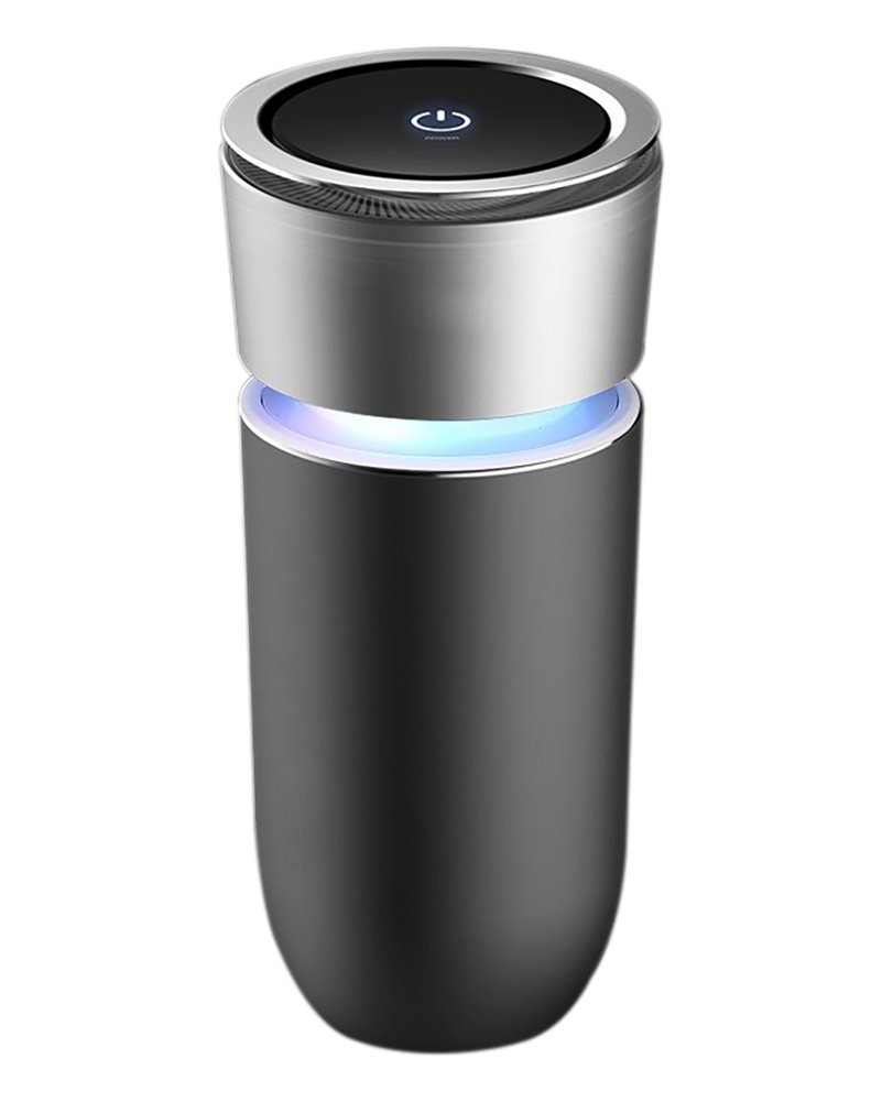 Sumeber Auto purificatore d' Aria e Lonizer, Houzetek Deodorante, Portable Air Cleaner, Odor Eliminator Elettrico per Auto Armadio da Bagno per togliere Eliminator Sigarette
