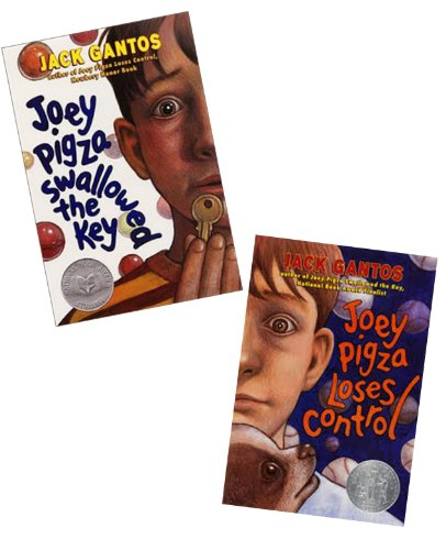(Adhd & ADD Experience: 2 Pack: Joey Pigza Swallowed the Key; Joey Pigza Loses Control (Children Series Book Sets : Grade 4 - 7) by Jack Gantos (2000-05-04))