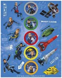 UNIQUE PARTY 48941 - Thunderbirds Sticker Sheets
