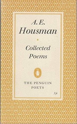 Collected Poems, Housman, AE