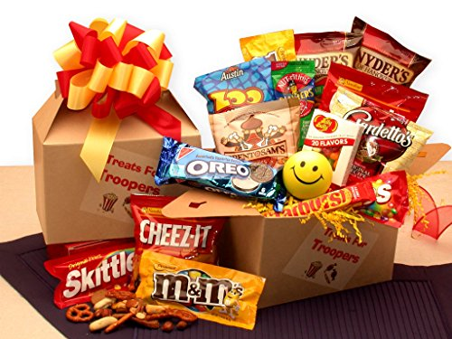 Military Munchies! Military Snack Care Package -Large -
