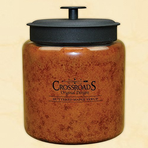 Crossroads ''Buttered Maple Syrup'' Scented Multi-wick Candle, Extra Large, 96 Oz by Crossroads Original Designs
