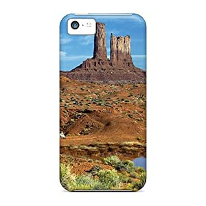 Cases Covers Protector Specially Made For Iphone 5c Horses Near Waters