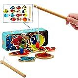 LEZHI Fun Magnetic Fishing , Fishing Playset (14 Fishes)