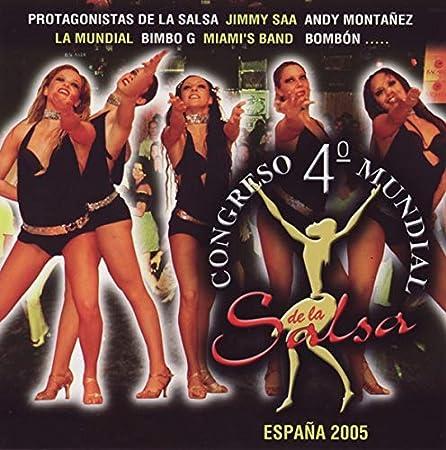 Congreso Mundial De La Salsa /Vol.4: Congreso Mundial De La Salsa: Amazon.es: Música