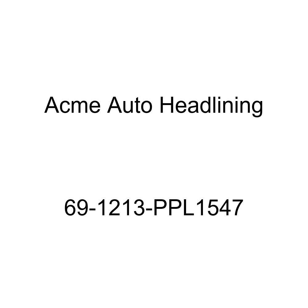 6 Bow 1969 Oldsmobile 98 2 Door Hardtop Acme Auto Headlining 69-1213-PPL1547 Medium Blue Replacement Headliner