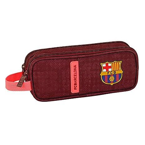 FC Barcelona - Estuche escolar doble Deluxe sangre FCB ...