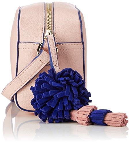 8x13x19 Rosa Mujer Bolsos H Cm pink T Borsa b Pu Rosa X Baguette Moschino Small Grain Love xPqz8SHwH