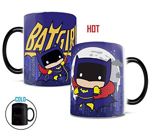 Morphing Mugs DC Comics Justice League (Chibi Batgirl) Heat Reveal Ceramic Coffee Mug - 11 Ounces]()