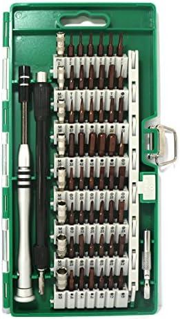 [スポンサー プロダクト]60in1 ドライバー 56種ビット S2合金鋼 耐摩耗性 精密ドライバーセット 特殊ドライバー ねじ回し ドライバービット トルクス y型 六角 星形 U型 三角ネジ 五角 プラス マイナス 特殊なネジ 磁石付き スマホ パソコン メガネ 時計など DIY作業工具 修理 改造 分解 多機能ツール