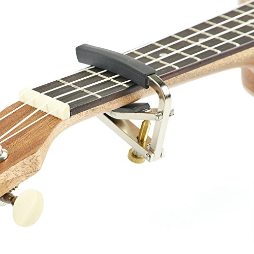 Artempo Adjustable Guitar Capo - No Scratches, No Fret Buzz, Easy to Move, Adjustable fit, Stainless steel by...