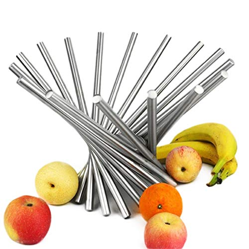Fold Stainless Steel Fruit Plate Rotate Fashion Fruits Strainer Basket Personalized Bowl kitchen accessories food container